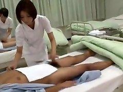 caliente modelo japonés de yuzu yamanashi, imai natsumi, miku tanaka en el increíble enfermera jav escena