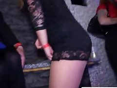Real euro amateur dancing upskirt