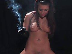 Smoking Fetish Facesitting