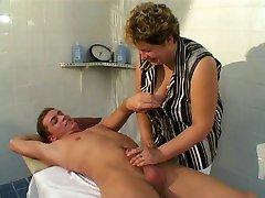Mature BBW Massage