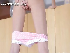 Super small ass and pussy stripping