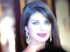 Belo rosto de Priyanka Chopra cummed!!!
