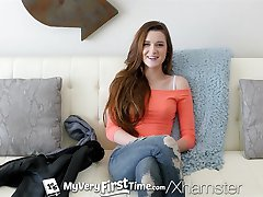 MyVeryFirstTime - Alex Mae difficult first anal experience
