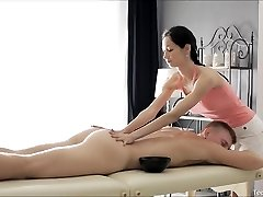Nubile Massage Threapist Fucked Hard