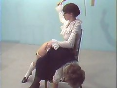 Hairbrush Spankings 1