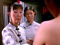 Scenes in Vietnamese movie - The White Silk Dress