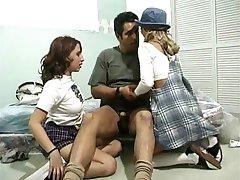 blair și prieten prins lezzing, tatăl vitreg fute spanks