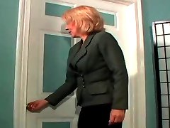 Hairy MILF BJ anal