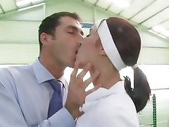 Tenis Děvka Dostane Orat