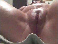getting a pussy rub down