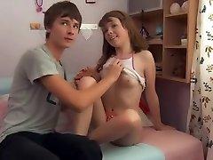 MRY - super hot teen wird gefickt von Freund