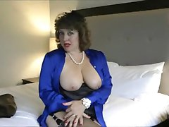 sexy cougar teasing