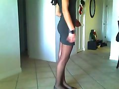 Friend Showing her dressing on webcam