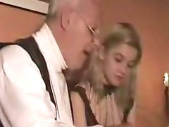 Petite Teen Takes Old Man -  724adult com