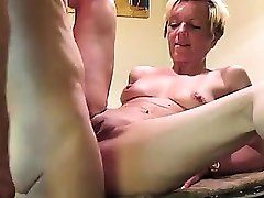 Fucking my nice Milf on Kitchentable - visit realfuck24