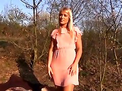 Perfect Blonde very first time enjoying Public Romp