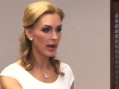 Tanya Tate And Aiden Ashley Office Seduction