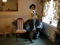 Classy woman undressing