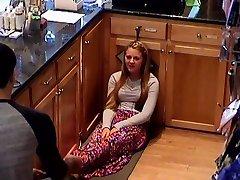 Hidden Cam College Teen Cashier Girls Feet Legs