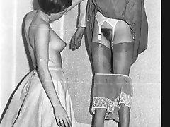 Vintage upskirt. le calze. presentazione
