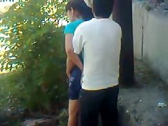 Uzbek young duo outdoor - Khwarezm