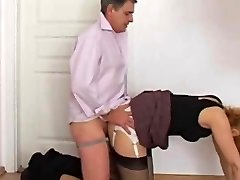 jerking on assistant panty caboose