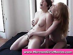 lesbiene mormon amatori cuplu in lenjerie intima lins pizde