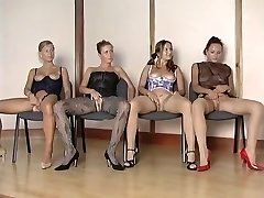 Hottest nylon girls vs 1 successful guy
