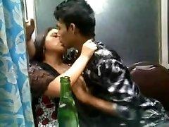 Indian Desi handsome girl in churidar
