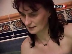 Some gross gals in this swinger's orgy inhaling and getting nailed