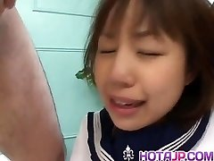 Nonoka is humped so hard in rosy crack by men