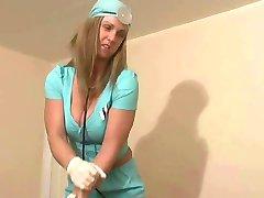 Nurse Jenny Prostate Milking