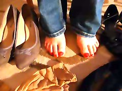 sweet-feet85 nylon video