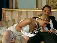 Włoski blond diva glamour seks