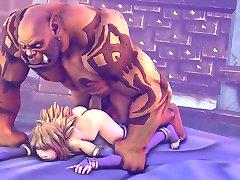 HMV-3d-SFM-Jaina Proudmoore Warcraft Hentai Compilation