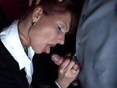 HOT MILF IN SEX SHOP