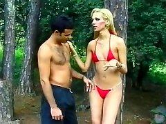 Tall Blonde Latin T-model