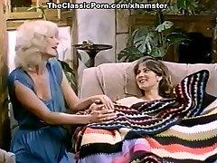 Ron Jeremy, Nina Hartley, Lili Marlene in vintage porn clamp