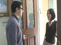 Hot Aisan Teen fuck her Teacher