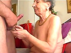 Granny likes to play the flute 1
