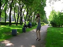 exhibitionist rusgirl for voyeurs