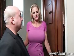 Awesome hot great big boobs blonde slut part3