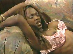 Midori - ebony queen anal