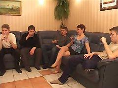 Rus Mature Gang 2