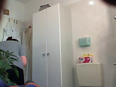 Hidden Cam Maid changing clothes 02