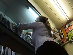 Busty Bookseller
