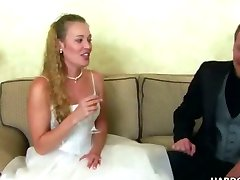 Bride in hardcore fucknig video