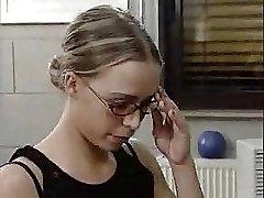 german girl handballing...BMW