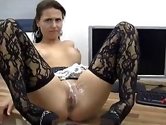 Sexy Honey Gets Anal And Gash Covered In Jizz !