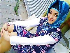 Bagno turco-arabo-asiatica hijapp mix foto 14